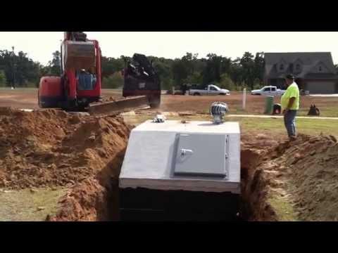 Oklahoma Tornado Shelter Installation
