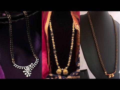 Latest New Designs Diamond Mangalsutra Designs - She Fashion