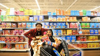 CRAZY GROCERY SHOPPING CHRONICLES WITH DK4L   VLOGMAS DAY 9