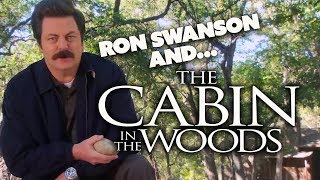 RON SWANSON and...The Cabin In The Woods | Parks and Recreation | Comedy Bites