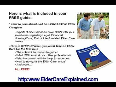 Elder Caregiver Information And Tips | Eldercare |Aging Par