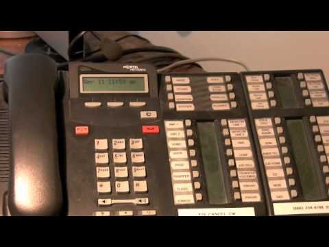 How To Adjust Nortel Ring Volume - Los Angeles Nortel Service