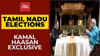 Elections On My Plate | Kamal Haasan Talks Exclusively To Rajdeep Sardesai On TN Elections 2021