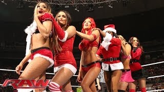 12 Divas Jingle Belles Match: Raw, Dec. 23, 2013