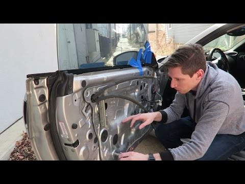 Fixing my 350z window motor!