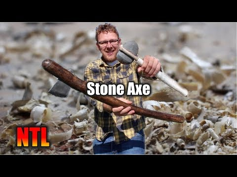 Making Stone Axes with Power Tools