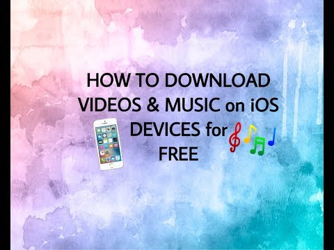 HOW TO DOWNLOAD MOVIES,MUSIC VIDEOs, & more for FREE on IPhone😍