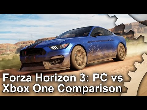 Forza Horizon 3 PC vs Xbox One Graphics Comparison + Analysis