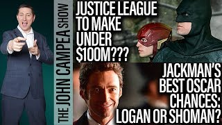Justice League To Make Under $100 Million Opening Weekend? - The John Campea Show