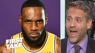 Start getting your LeBron excuses ready! - Max Kellerman to Stephen A.   First Take