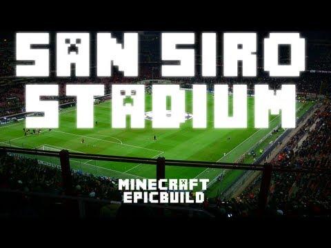 Minecraft - San Siro Football/Soccer Stadium