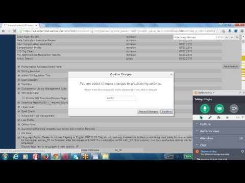 2015 08 05 21 15 SAP Successfactors Employee Central Online Training