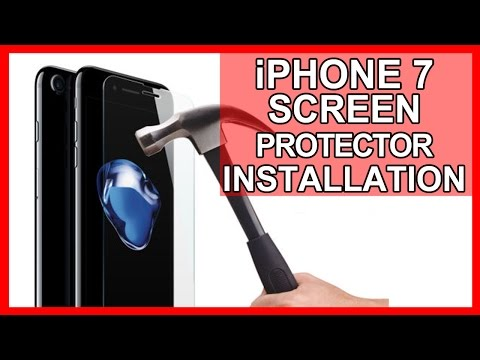 iPhone 7 Screen Protector Installation Directions