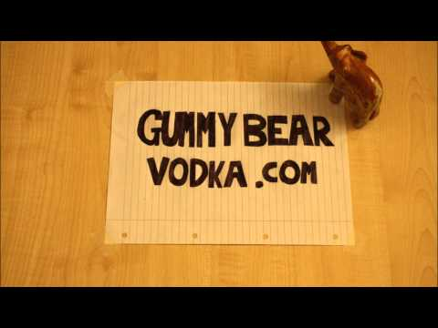 Elephant Drunk on Vodka Gummy Bears