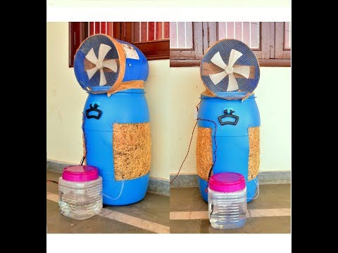 How to Make an Air Cooler at Home - Easy Way