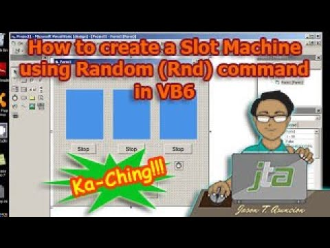 How to create a Slot Machine using Random (Rnd) command in VB6
