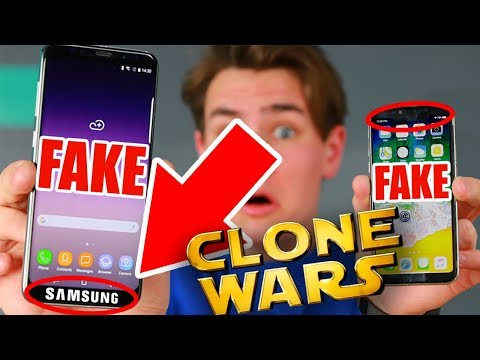 Fake Galaxy S9+ Clone vs Fake iPhone X Clone - Which is Worse?