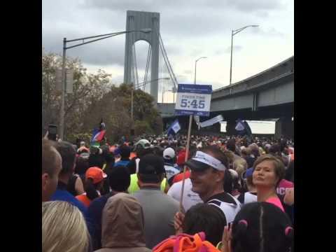 Wave 4 Start, 2015 NYC Marathon