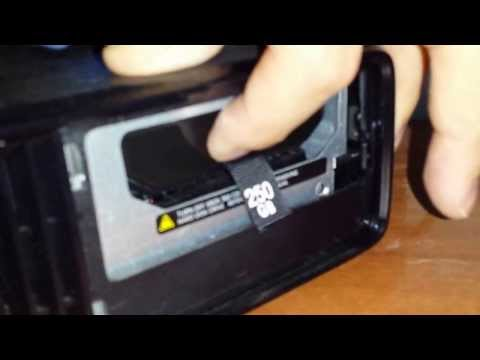 How to upgrade your XBOX 360 slim 4GB hard drive