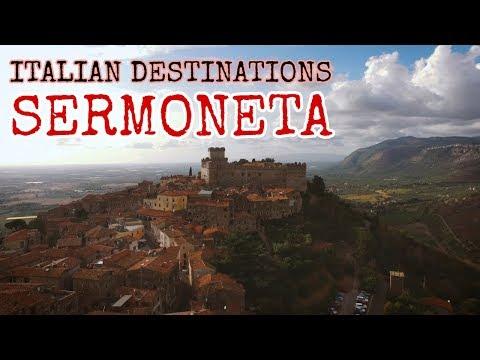 Travel Italy: Learn Italian Culture and Travel to SERMONETA [IT]
