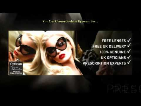 Find The Exact Pair Of Designer Glasses At FashionEyewear.co.uk