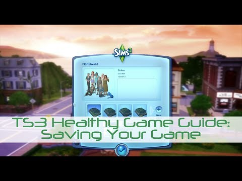 The Sims 3 Healthy Game Guide [Part 1]--