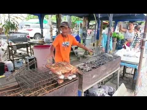 Cooking Fresh Seafood Thai Style - Pattaya Street Food