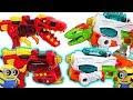 Minions Super Charge Machine Dinosaurs Transformer Dinobots Double Gun Go DuDuPopTOY