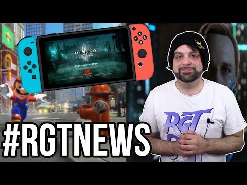 PS4 Gets HACKED, Diablo 3 to Switch, More Super Mario Odyssey DLC? #RGTNEWS | RGT 85