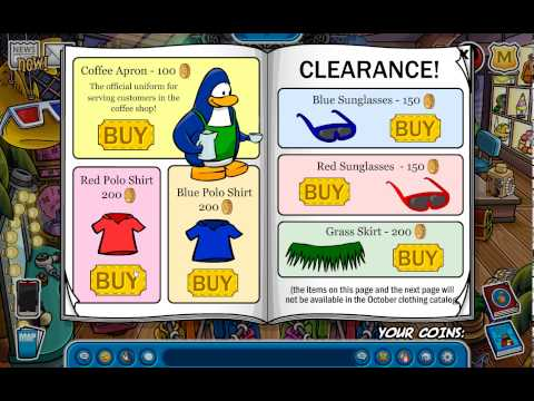 Club Penguin - Ultra Rare Item/Catalog hack 2015