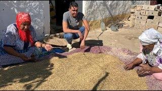 نهار الشقى مع مي نعيمة فالدار خبزات ونقات الشعير و قلعنا الهندية لفطور