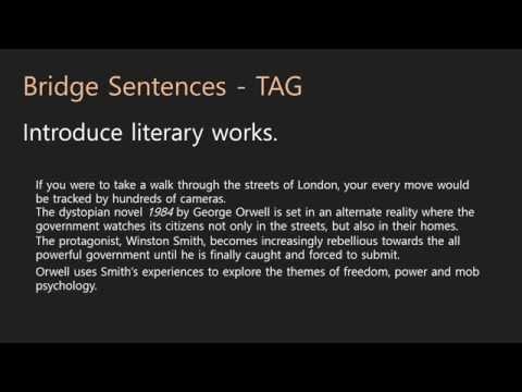 Essay Writing   Introductions   05 Bridge Sentences