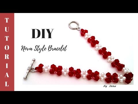 How to make simple pattern bracelet