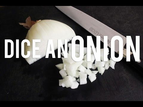 How To Properly Dice An Onion