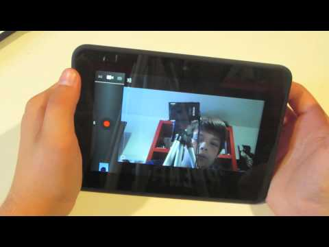 How To Use Front Facing Camera On Kindle Fire HD
