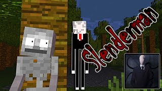 Monster School : PLAYING SLENDER MAN HORROR GAME - Minecraft Animation