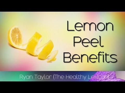 Lemon Peel: Benefits & Uses