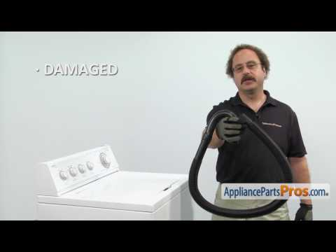 Washer Drain Hose (part #285664) - How To Replace