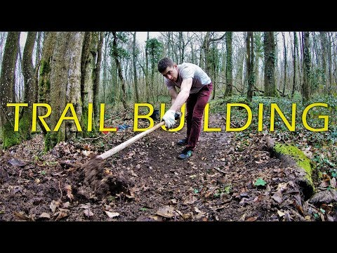 Trail Building Timelapse / Restauration D'une Piste | DROP [4k]
