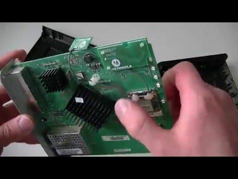 Motorola SBG6580 Cable Modem Teardown