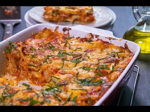 Sausage & 3 Cheese Lasagna