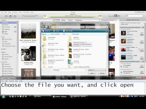How To Import Music From Your Computer to iTunes