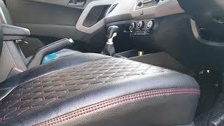 Incredible Pure Leather Seat Covers For Creta Videos 9Tube Tv Creativecarmelina Interior Chair Design Creativecarmelinacom