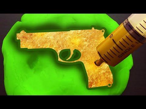 DIY Gold Nerf Gun