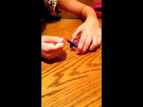 How to make a double fishtail loom bracelet