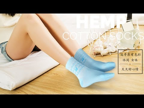 The Hemp Cotton Socks Unboxing - Kara
