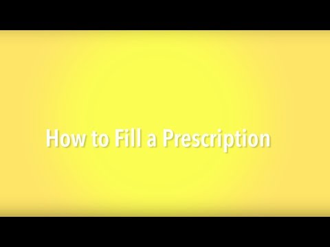 How to Fill a Prescription - A Guide for Refugees in Canada