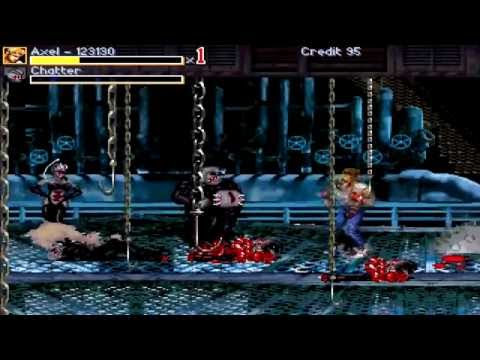 OpenBoR games: Streets of Rage Zombies (Final version