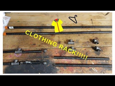 Metal Pipe Clothing Rack