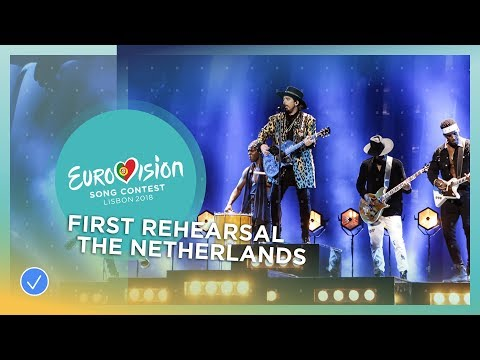 Waylon - Outlaw In 'Em - First Rehearsal - The Netherlands - Eurovision 2018